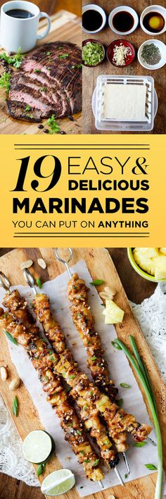 19 Easy Marinades Th