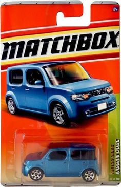 Matchbox 2011 NISSAN CUBE (BLUE) #30 Metro Rides 5 of 6 die cast car by Mattel. $7.77