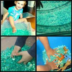 JellyBeadZ Brand Sensory Bin - Water Gel Crystal Soil 3 -10 Gram Packs - Turquoise TOYS NOT INCLUDED beautiful bold COLORFAST color in each bead Many uses for fun or decorations Children learn while playing, Sensory learning Non toxic, biodegradable, enviromentally friendly Sensory Boxes, Sensory Table, Sensory Activities, Sensory Play, Sand And Water Table, Water Beads, Parenting Toddlers, Preschool Classroom, Kids Learning