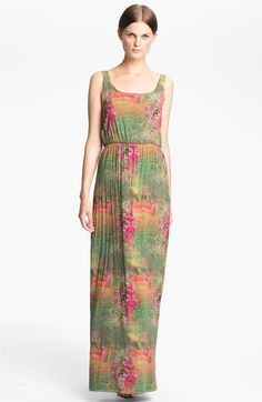 b537e5278b2 Alice + Olivia  Kallie  Blouson Maxi Tank Dress