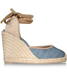 847f6317ae87 The espadrille is the hot shoe for Spring. Cute