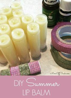 This is the best flavor of summer DIY lip balm I have tried-lime, spearmint and vanilla. YUM!!