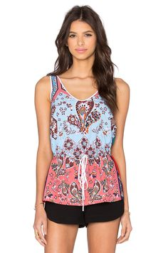 CLOVER CANYON MODERN PAISLEY TANK. #clovercanyon #cloth #dress #top #shirt