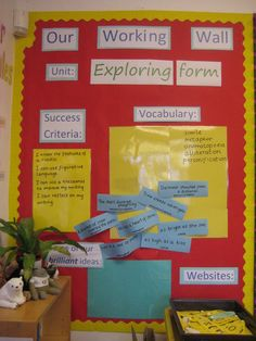 Literacy, class display, Literacy, Story Books, Working Wall, Writing, Vocabulary, Early Years (EYFS), KS1  KS2 Primary Resources