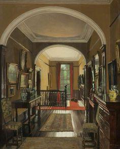 Mary Dawson Elwell (British, 1874–1952) The Landing in Summer, 1930