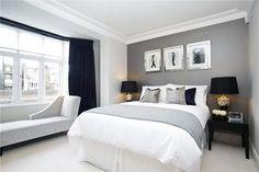 Gri Yatak Odası Dekorasyonu | Yapı Dekorasyon 360