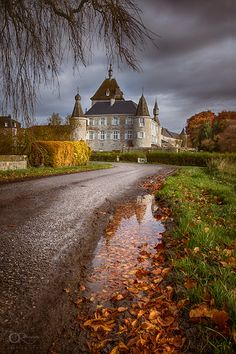 Château de Hodoumont, Belgium Orient Express, France, Holland, Skiing, Medieval, Beautiful Places, Places To Visit, Country Roads, Mansions