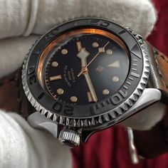 Mike Kramer's Yacht Master Mod, With Yobokies New Sub Bezel and Ceramic Insert. Seiko Skx007 Mod, Seiko Mod, Cool Watches, Watches For Men, Big Ben, Tourbillon Watch, Watches Photography, Seiko Watches, Beautiful Watches