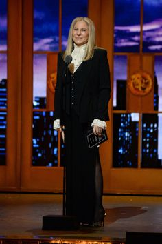 """Thank god I picked the right outfit,"" Streisand said of her ""Hamilton""-inspired look."