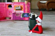 Naughty lil elf!