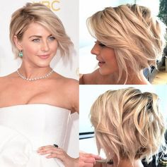 Julianne hough short hair tutorial | Foto & Video