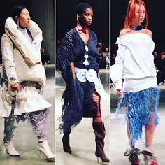 @fashion_east @asaitakeaway #londonfashionweek #AW17 #london #lfw by @deborahlatouche  via ELLE ITALIA MAGAZINE OFFICIAL INSTAGRAM - Fashion Campaigns  Haute Couture  Advertising  Editorial Photography  Magazine Cover Designs  Supermodels  Runway Models