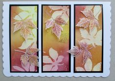 Blended inks and parchment leaves.http://lynnescornercreations.blogspot.co.uk/2018/05/a-little-bit-autumnal.html