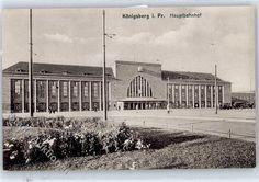 Koenigsberg Kaliningrad Bahnhof