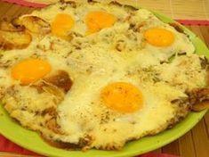 Fried Egg Savoyard: Savoyard Egg Recipe – Marmiton by Egg Recipes, Cooking Recipes, Healthy Recipes, Ways To Cook Eggs, Cordon Bleu, Entrees, Fries, Food And Drink, Meals