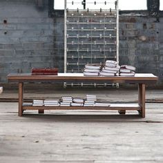 Crafted from reclaimed elm, the Jackson Coffee Table is elegant and practical.