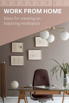 Looking for ideas on organising and updating your home workspace? Here are 6 quick tips for designing a work spot that keeps you happy. Design Your Own Home, Workspace Inspiration, Workspace Design, Organising, Scandinavian Design, Office Ideas, Are You Happy, Home Office, Tips