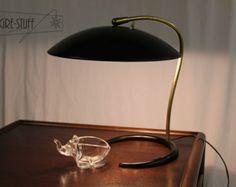 Mid century modern, vintage, retro table lamp, desk lamp by Gerald Thurston for Lightolier
