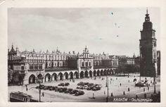 Sukiennice, Kraków - 1956 rok,