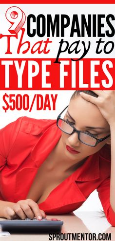 Did you know you can get paid to type files and other documents while you work from home? Check out these online typing jobs hiring now. They are ideal ways to make money online on the side for beginners without any experience and college degree. #onlinejobs #makemoneyonline #sidejobs #workfromhomejobs #money #finance #stayathomejobs #typingjobs #onlinemoney #jobs