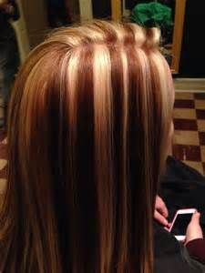 Chunky Highlight Lowlight Hair Color Pinterest