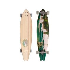 "Sector 9 Lennox Head Bamboo Series 38"" (96,5cm) Komplett-Longboard ($265) ❤ liked on Polyvore featuring home, home decor, office accessories, fillers, skateboards and sector 9"