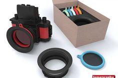 GrabCAD Lomography Camera Accessory Challenge Finalists · Lomography