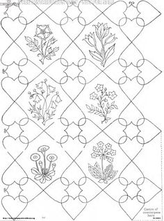 Embroidery Antique Patterns. The Antique Pattern Library strikes again: This is a free 1929 pamphlet by Joan Drew, which consists of a 1 page introduction and 16 pages of nothing but design outlines from http://antiquepatterns.dreamhosters.com/DrewPortfolio.pdf. via embroideryfor ducks.com. jwt