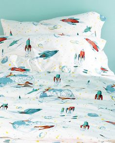 Rockets Percale Bedding...THEY'RE BACK!!!