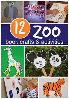 12 Book-Inspired Zoo Crafts & Activities {Aliki Virtual Book Club for Kids} by Toddler Approved!: