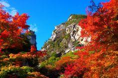 御岳昇仙峡の紅葉