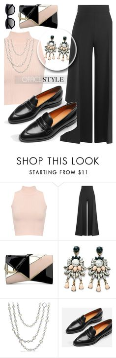 """#officestyle"" by liligwada ❤ liked on Polyvore featuring WearAll, Valentino, Nine West, David Yurman, Everlane and Ace"