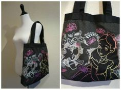 DISNEY Alice in Wonderland Tote Shoulder Bag by Loungefly