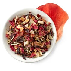 Passion Tango herbal tea - Bright tropical notes of papaya and mango with bright citrus lemongrass with a hint of cinnamon