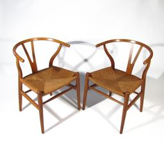 Hans Wegner Chairs | From a unique collection of antique and modern armchairs at http://www.1stdibs.com/furniture/seating/armchairs/.1800.