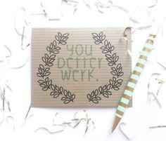Congratulations You better werk card Good news by AllyElleCards