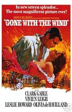 Gone with the Wind Art Print 24 x 36in