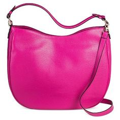 Women's Large Hobo Handbag - Merona™ Hobo Handbags, Handbags Online, Hobo Bags, Pink Crossbody Bag, Buy Wallet, Budget Fashion, Buy 1, Women's Accessories, Women Jewelry