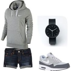 Cute casual Nike outfit by laurenashlei on Polyvore
