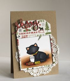 Alice's {Little} Wonderland: Deck the Halls With Inky Paws Blog Hop