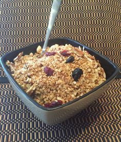 """Stove Top Granola - We want to change the name of this """"Stove Top Granola"""" to """"Ridiculously Good Stove Top Granola"""". Try it and you'll see why!"""