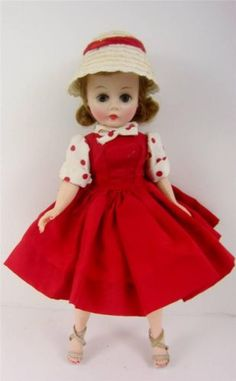 Madame Alexander Cissette doll original tagged ensemble, 1950's. www.CONNECTIBLES.net