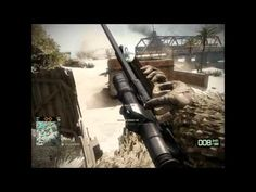 Like the title says - I was shooting my MP game with SNAIPERSKAYA, the best sniper for mid to close distance sniper rifle Battlefield Bad Company 2, Distance, Gaming, Videogames, Long Distance, Game