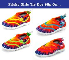 968f5b42098c Frisky Girls Tie Dye Slip On Aqua Shoes   See this great product.
