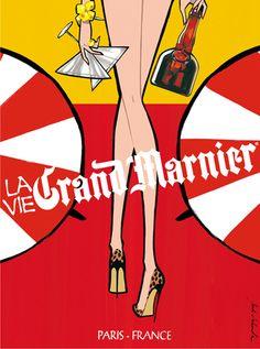 GRAND MARNIER by Jordi Labanda, via Behance
