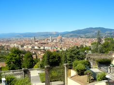 View of Florence from San Miniato al Monte, Italy