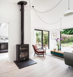 Victorian Semi-Detached Home Transformed Into A Couryard Family House