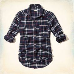 Supersoft flannel with classic pattern, left chest pocket, Easy Fit, Imported<br><br>100% cotton