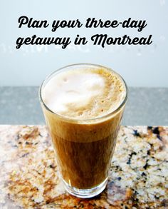 Get away to pretty Montreal. The best places to eat and drink in Montreal. Montreal Quebec, Montreal Canada, Quebec City, Montreal Food, Best Places To Eat, The Places Youll Go, Places To Travel, Montreal Vacation, East Coast Road Trip