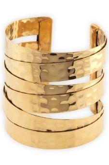World Finds Fair Trade Gold Cuff Bracelet #FairTuesday
